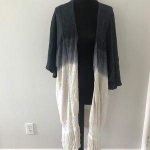 Long jacket tye dye